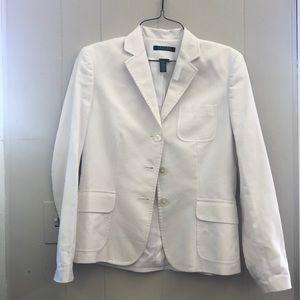 White RL Ralph Lauren blazer size 4